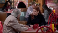 Robert Klein and Debra Messing, Will & Grace