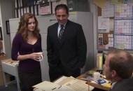 Amy Adams, Steve Carell and Paul Lieberstein, The Office