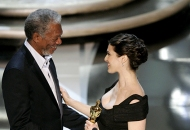 Morgan Freeman and Rachel Weisz, 78th Academy Awards