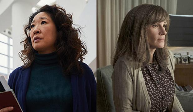Sandra Oh, Killing Eve; Julia Roberts, Homecoming
