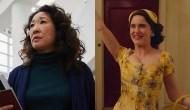 Sandra Oh, Killing Eve; Rachel Brosnahan, The Marvelous Mrs. Maisel