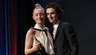 Saoirse Ronan and Timothee Chalamet