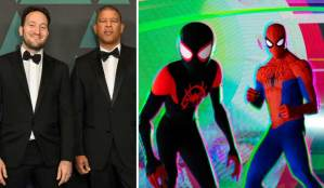 Spider-Man Into the Spider-Verse directors
