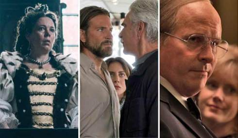 The Favourite, A Star is Born and Vice