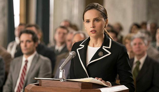 Felicity Jones as RBG
