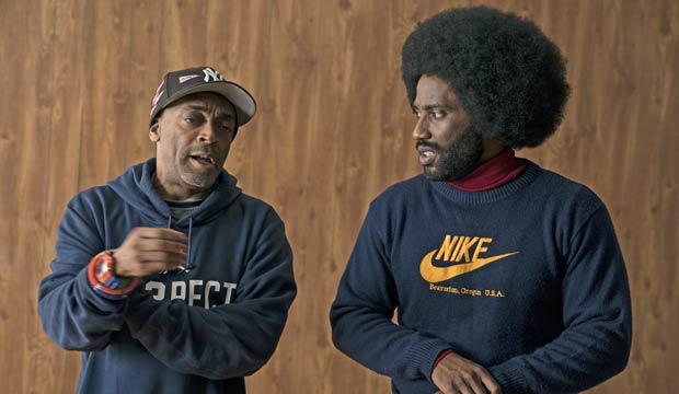 Spike Lee directing BlacKkKlansman