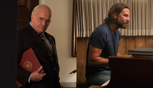 Christian Bale, Vice; Bradley Cooper, A Star Is Born