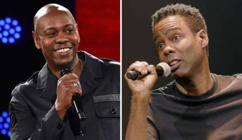 Dave Chappelle and Chris Rock