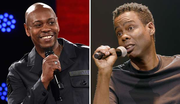Dave Chappelle and Chris Rock are both undefeated at the Grammys, but they're going head-to-head for the first time