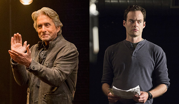 Michael Douglas, The Kominsky Method; Bill Hader, Barry
