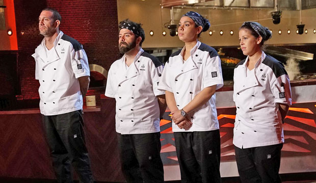 61 Of Hell S Kitchen 18 Fans Stand By Motto S Decision To Drop Out Goldderby