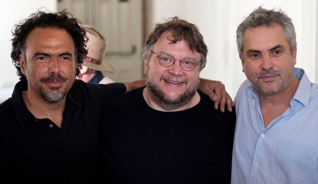 Alejandro Gonzalez Inarritu, Guillermo Del Toro, Alfonso Cuaron