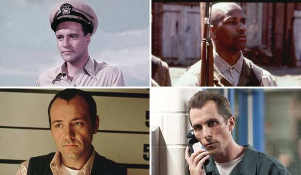 Jack Lemmon, Denzel Washington, Kevin Spacey, Christian Bale