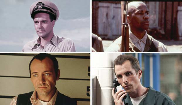 Jack Lemmon, Denzel Washington, Kevin Spacey, Christian Bale