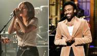 Lady Gaga and Donald Glover aka Childish Gambino