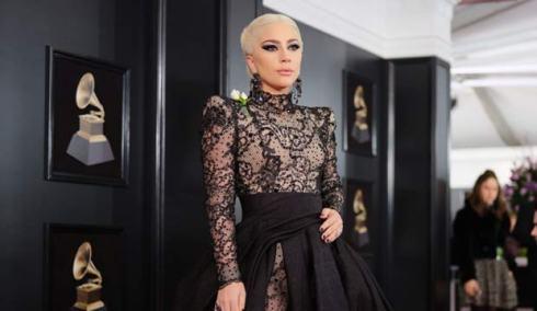 Lady Gaga at the Grammys 2018