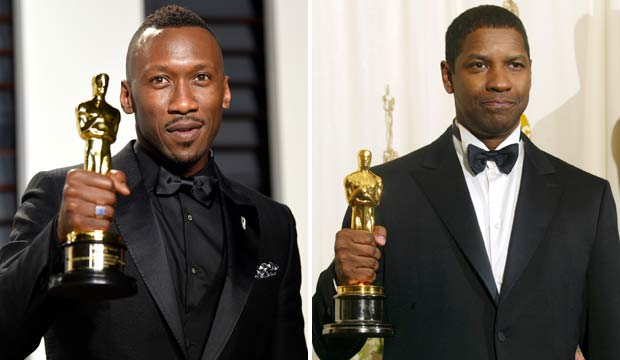 Mahershala Ali and Denzel Washington win Oscars