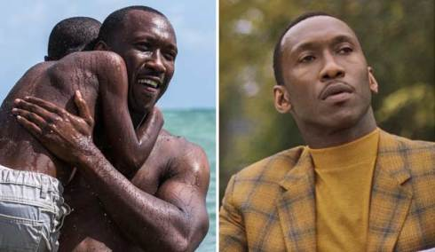 Mahershala Ali in Moonlight and Green Book