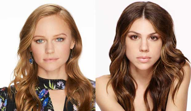Marci Miller and Kate Mansi, Days of Our Lives
