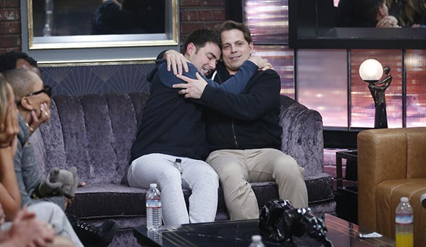 Jonathan Bennett and Anthony Scaramucci, Celebrity Big Brother