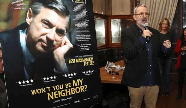 Morgan Neville discusses Won't You Be My Neighbor