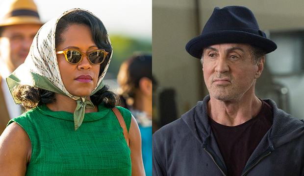 Regina King, If Beale Street Could Talk; Sylvester Stallone, Creed