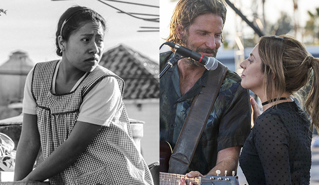 Yalitza Aparicio, Roma; Bradley Cooper and Lady Gaga, A Star Is Born