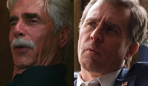 Sam Elliott, A Star Is born; Sam Rockwell, Vice