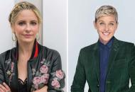 Sarah Michelle Gellar and Ellen DeGeneres