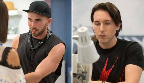 Sean Kelly and Dmitry Sholokhov on Project Runway All Stars