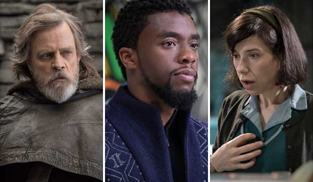 Star Wars, Black Panther, The Shape of Water