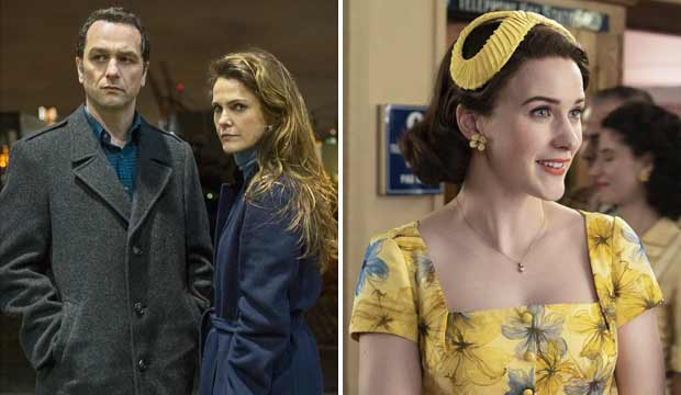 The Americans and The Marvelous Mrs. Maisel