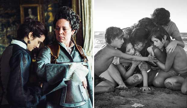 Image result for the favourite and roma