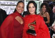 Alicia Keys and Kacey Musgraves at Grammys 2019