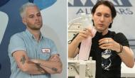 Anthony Ryan Auld and Dmitry Sholokhov on Project Runway All Stars
