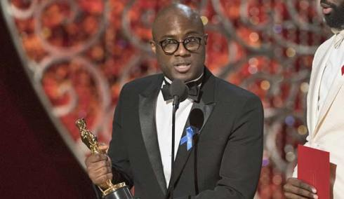 Barry Jenkins at Oscars 2017