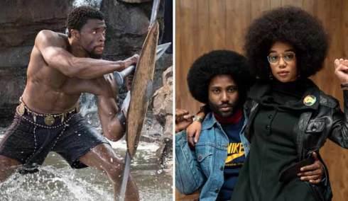 Black Panther and BlacKkKlansman