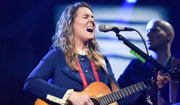 Brandi Carlile on The Late Show