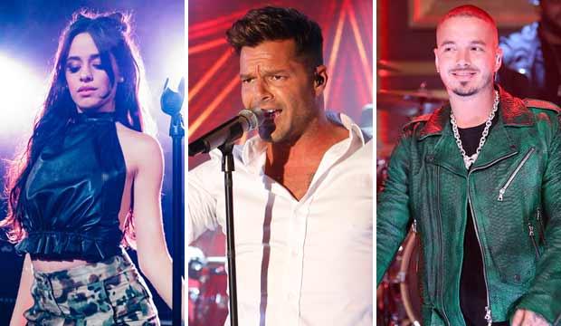 Camila Cabello, Ricky Martin and J Balvin