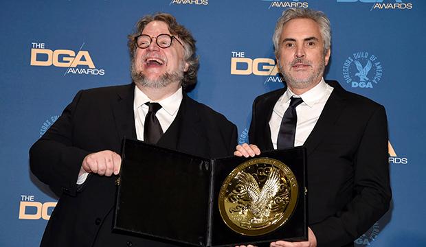 Guillermo del Toro and Alfonso Cuaron