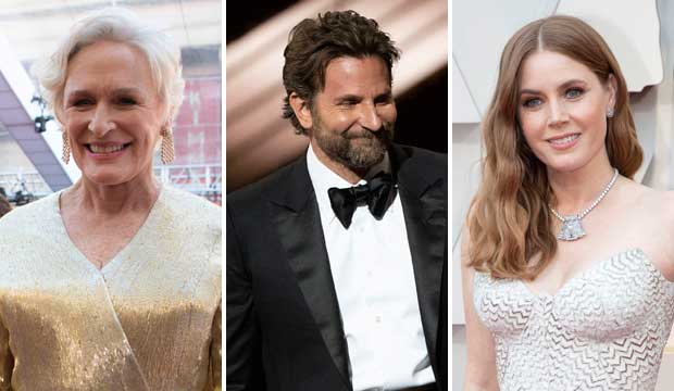 Who's Most Overdue for Oscar Now: Glenn Close, Bradley Cooper