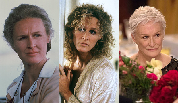 Glenn Close, The World According to Garp; Fatal Attraction; The Wife