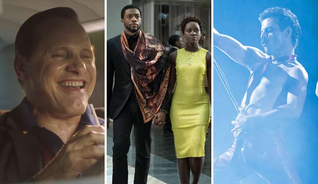 Green Book, Black Panther and Bohemian Rhapsody