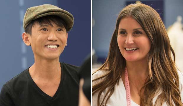 Jasper Garvida and Juli Grbac on Project Runway All Stars