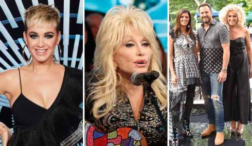Katy Perry, Dolly Parton and Little Big Town