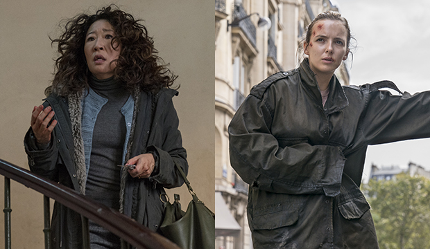 Sandra Oh and Jodie Comer, Killing Eve