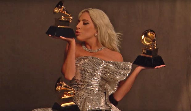 2019 Grammys Behind The Scenes Lady Gaga Dropped One Of Her