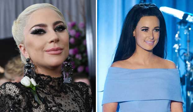 Lady Gaga and Kacey Musgraves