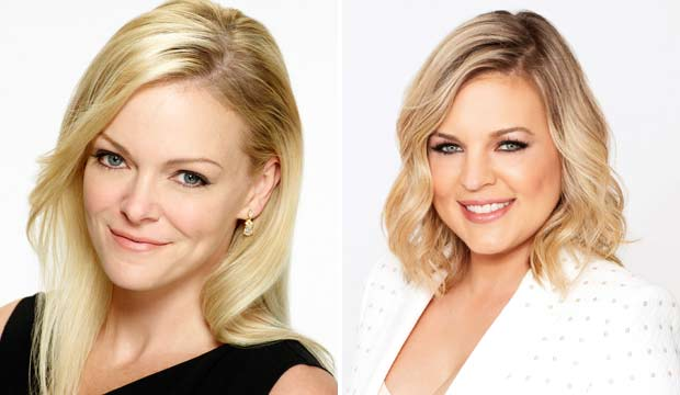 Martha Madison and Kirsten Storms