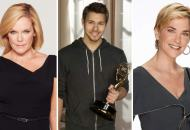 Maura West, Scott Clifton and Kassie DePaiva